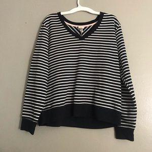 A new day striped sweater size xxl